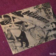 Coleccionismo deportivo: ANTIGUA REVISTA - ASÍ TRIUNFÓ BAHAMONTES - CICLISMO - AÑOS 50 - VINTAGE - EDICIONES MANDOLINA. Lote 107452387