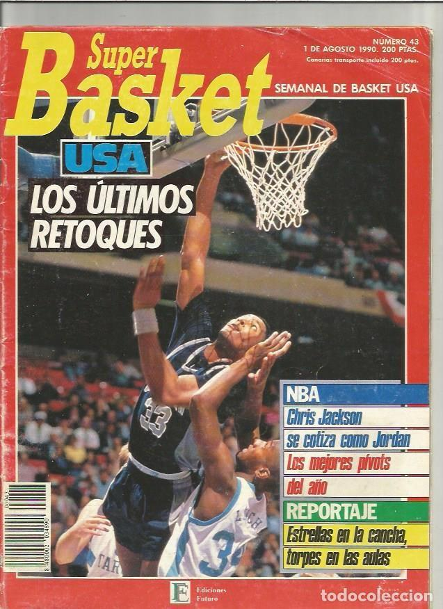 SUPER BASKET 43 (Coleccionismo Deportivo - Revistas y Periódicos - otros Deportes)