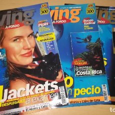 Coleccionismo deportivo: LOTE DIVING A FONDO NºS 1, 2 Y 3. REVISTA DE SUBMARINISMO. Lote 107841211