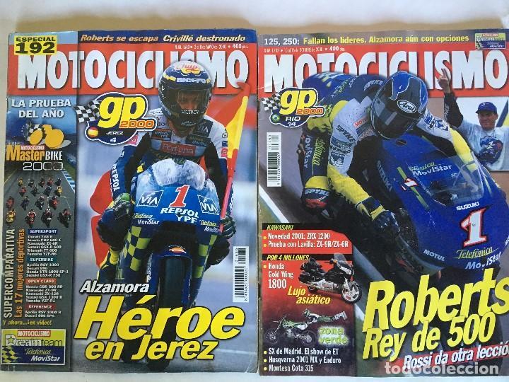 LOTE DE 22 REVISTAS MOTOCICLISMO AÑOS 2000 - INCLUYE ALGUNOS ESPECIALES (Coleccionismo Deportivo - Revistas y Periódicos - otros Deportes)