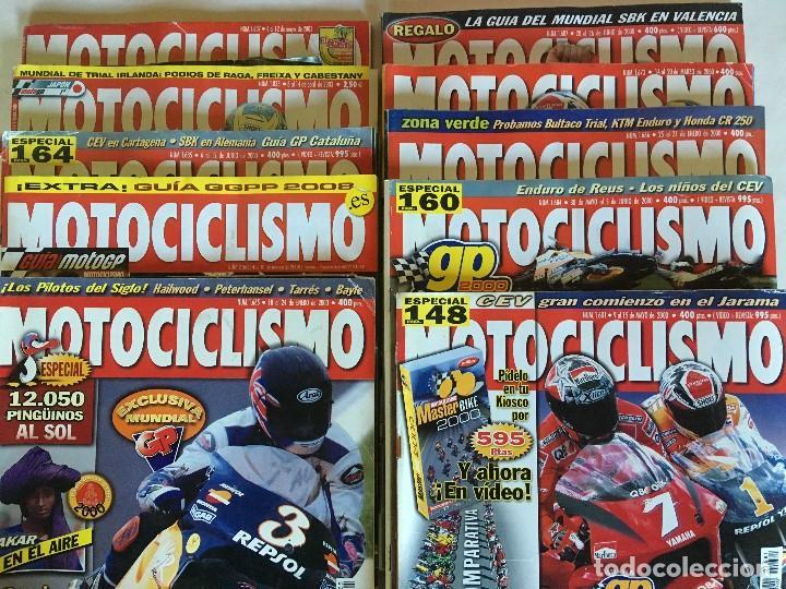 Coleccionismo deportivo: LOTE DE 22 REVISTAS MOTOCICLISMO AÑOS 2000 - INCLUYE ALGUNOS ESPECIALES - Foto 2 - 107846971