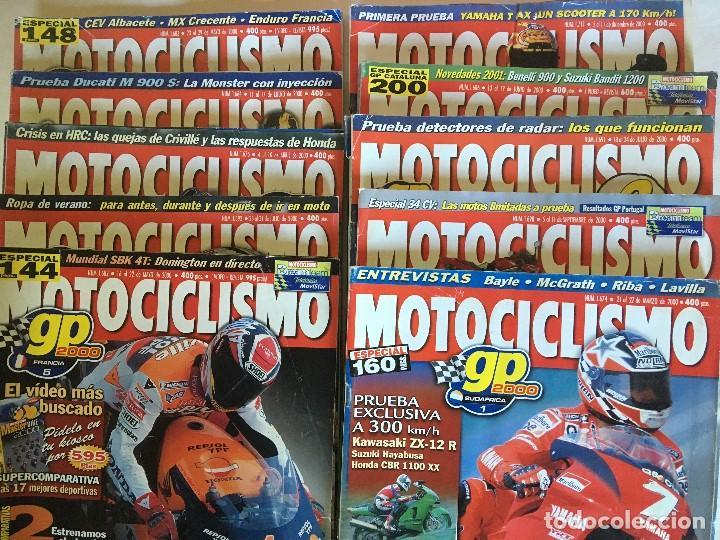 Coleccionismo deportivo: LOTE DE 22 REVISTAS MOTOCICLISMO AÑOS 2000 - INCLUYE ALGUNOS ESPECIALES - Foto 3 - 107846971