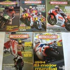 Coleccionismo deportivo: LOTE DE 21 REVISTAS MOTOCICLISMO - CATALOGOS - ESPECIALES GRANDES PREMIOS - PRUEBAS - LOTAZO ÚNICO . Lote 107847507