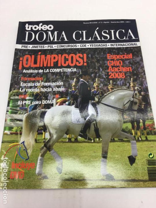 REVISTA TROFEO DOMA CLÁSICA - Nº3 AGOSTO-SEPTIEMBRE 2008 (Coleccionismo Deportivo - Revistas y Periódicos - otros Deportes)
