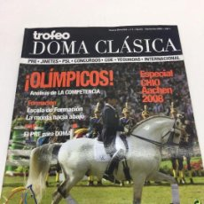 Coleccionismo deportivo: REVISTA TROFEO DOMA CLÁSICA - Nº3 AGOSTO-SEPTIEMBRE 2008. Lote 108234259