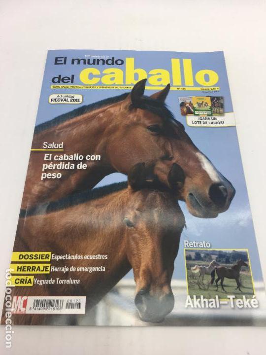 REVISTA EL MUNDO DEL CABALLO - 10º ANIVERSARIO - Nº123 (Coleccionismo Deportivo - Revistas y Periódicos - otros Deportes)