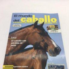 Coleccionismo deportivo: REVISTA EL MUNDO DEL CABALLO - 10º ANIVERSARIO - Nº123. Lote 108398463