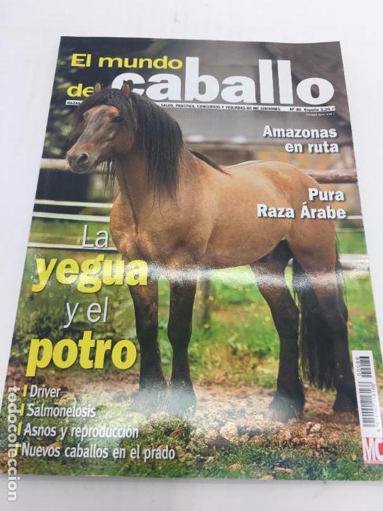 REVISTA EL MUNDO DEL CABALLO - Nº 86 (Coleccionismo Deportivo - Revistas y Periódicos - otros Deportes)