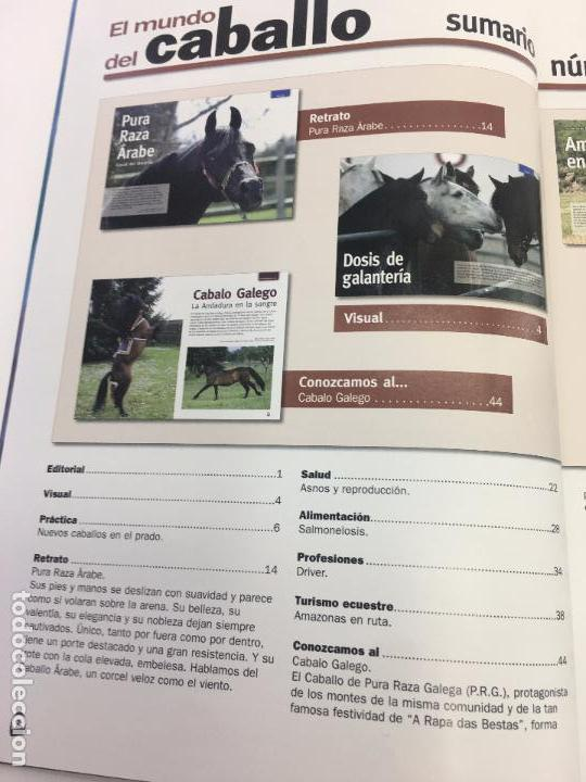 Coleccionismo deportivo: REVISTA EL MUNDO DEL CABALLO - Nº 86 - Foto 4 - 108399219