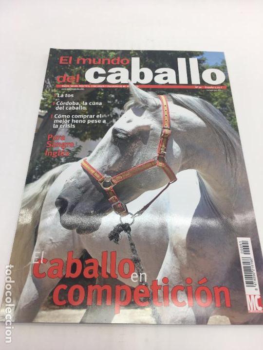 REVISTA EL MUNDO DEL CABALLO - Nº 91 (Coleccionismo Deportivo - Revistas y Periódicos - otros Deportes)