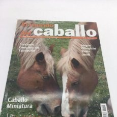 Coleccionismo deportivo: REVISTA EL MUNDO DEL CABALLO - Nº 90. Lote 108400319