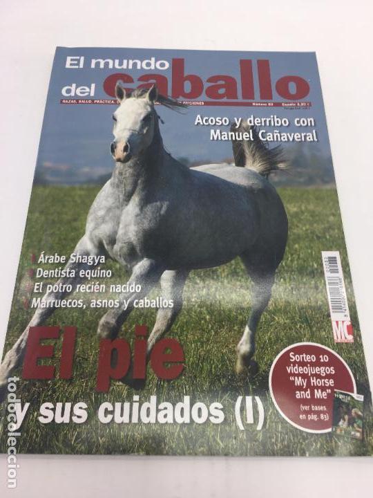 REVISTA EL MUNDO DEL CABALLO - Nº 83 (Coleccionismo Deportivo - Revistas y Periódicos - otros Deportes)