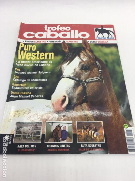 REVISTA TROFEO CABALLO - Nº 115 MARZO 2009 (Coleccionismo Deportivo - Revistas y Periódicos - otros Deportes)