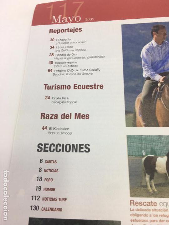 Coleccionismo deportivo: REVISTA TROFEO CABALLO - Nº 117 MAYO 2009 - Foto 6 - 108402899
