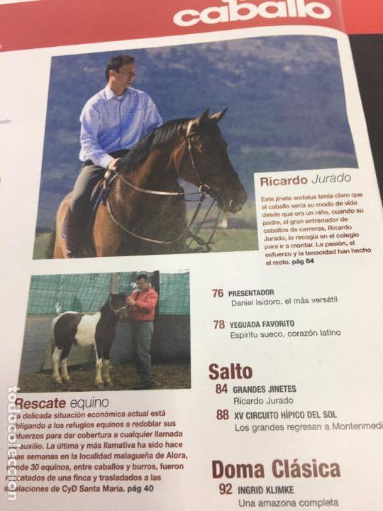 Coleccionismo deportivo: REVISTA TROFEO CABALLO - Nº 117 MAYO 2009 - Foto 8 - 108402899