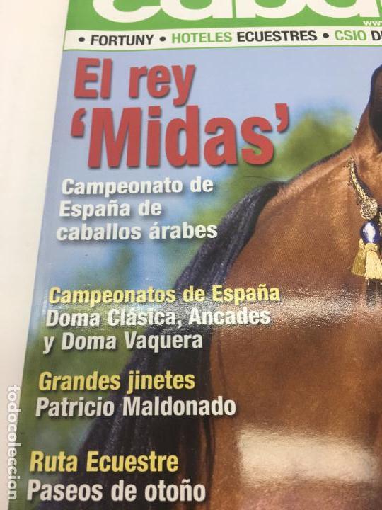Coleccionismo deportivo: REVISTA TROFEO CABALLO - Nº 111 - NOVIEMBRE 2008 - Foto 3 - 108403875