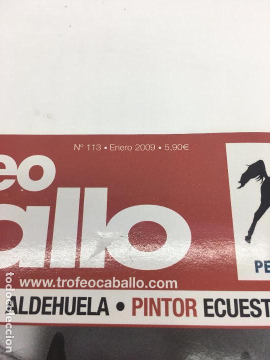 Coleccionismo deportivo: REVISTA TROFEO CABALLO - Nº 113 - ENERO 2009 - Foto 2 - 108404363