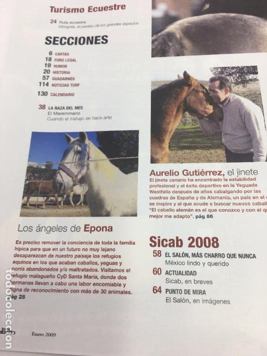Coleccionismo deportivo: REVISTA TROFEO CABALLO - Nº 113 - ENERO 2009 - Foto 7 - 108404363