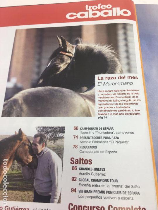 Coleccionismo deportivo: REVISTA TROFEO CABALLO - Nº 113 - ENERO 2009 - Foto 8 - 108404363