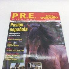 Coleccionismo deportivo: REVISTA P.R.E. PURA RAZA ESPAÑOLA - TROFEO CABALLO - Nº 2 - NOVIEMBRE 2008. Lote 108405295