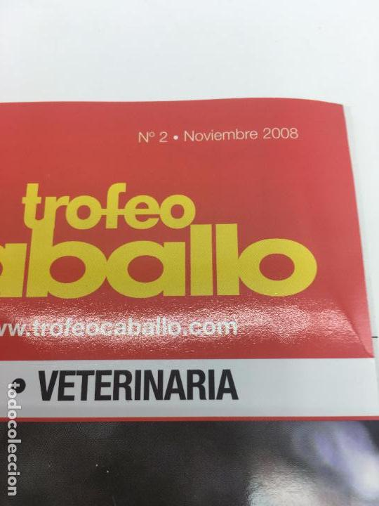 Coleccionismo deportivo: REVISTA P.R.E. pura raza española - TROFEO CABALLO - Nº 2 - NOVIEMBRE 2008 - Foto 2 - 108405295