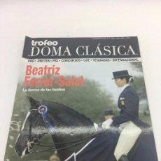 Coleccionismo deportivo: REVISTA TROFEO DOMA CLASICA - Nº 1 - ABRIL-MAYO 2008. Lote 108406671