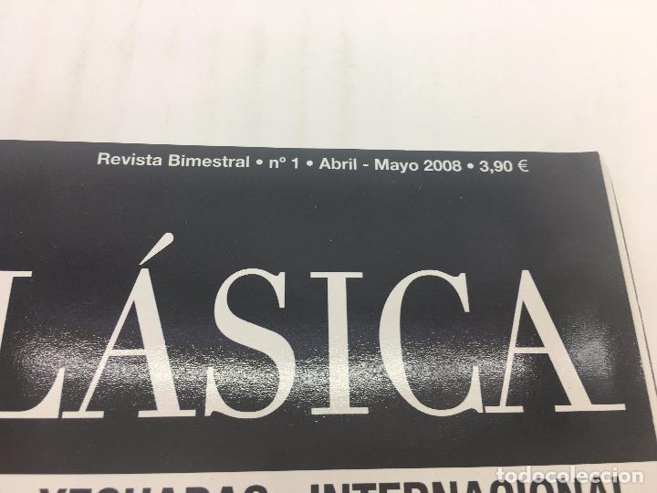 Coleccionismo deportivo: REVISTA TROFEO DOMA CLASICA - Nº 1 - ABRIL-MAYO 2008 - Foto 2 - 108406671