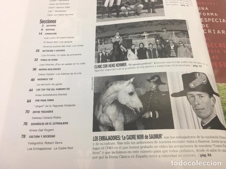 Coleccionismo deportivo: REVISTA TROFEO DOMA CLASICA - Nº 2 - JUNIO - JULIO 2008 - Foto 4 - 108407679