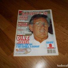 Coleccionismo deportivo: REVISTA BALONCESTO BASKET 16 Nº 46 AGOSTO 1988 DIAZ MIGUEL SIN POSTER NI CROMOS. Lote 108437167