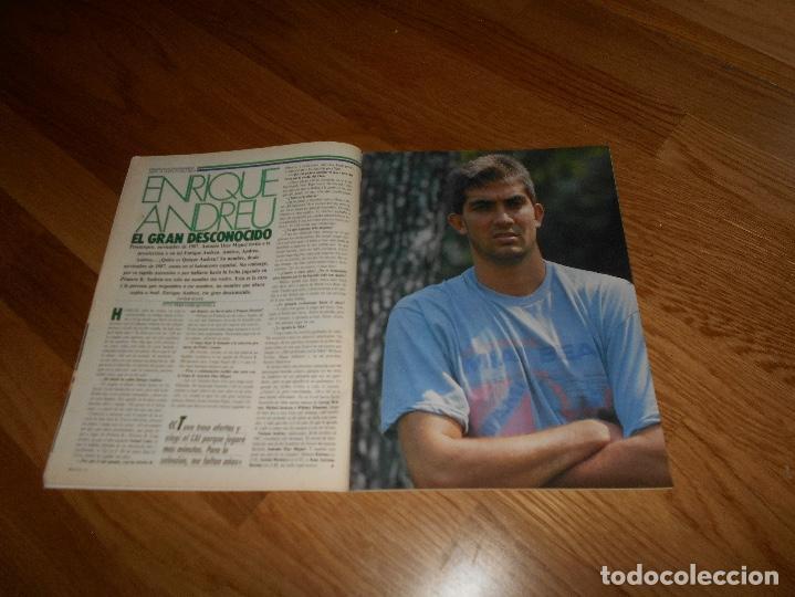 Coleccionismo deportivo: REVISTA BALONCESTO BASKET 16 Nº 46 AGOSTO 1988 DIAZ MIGUEL SIN POSTER NI CROMOS - Foto 2 - 108437167