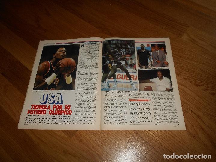 Coleccionismo deportivo: REVISTA BALONCESTO BASKET 16 Nº 46 AGOSTO 1988 DIAZ MIGUEL SIN POSTER NI CROMOS - Foto 4 - 108437167