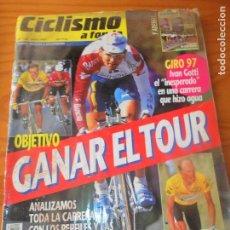 Coleccionismo deportivo: CICLISMO A FONDO Nº 152 DE 1997- TOUR 97- GIRO DE ITALIA- INDURAIN- GOTTI- OLANO- ULLRICH- Y +++. Lote 108450799