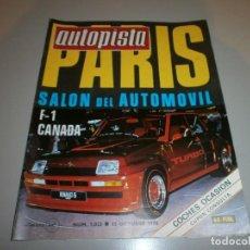 Coleccionismo deportivo: REVISTA AUTOPISTA Nº 1023 1978. Lote 108470643