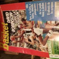 Coleccionismo deportivo: REVISTA SUPER BASKET NÚMERO 8 1989. Lote 108744563