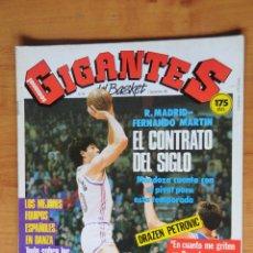 Coleccionismo deportivo: REVISTA GIGANTES DEL BASKET Nº 96. FERNANDO MARTÍN. DRAZEN PETROVIC. Lote 108921643