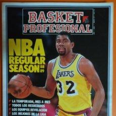 Coleccionismo deportivo: REVISTA BASKET 16 PROFESIONAL DE 1989. Lote 110240772