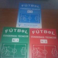 Coleccionismo deportivo: CUADERNOS TÉCNICOS FÚTBOL. Nº 1. 2.3. EST13B3. Lote 110287567