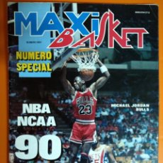 Coleccionismo deportivo: REVISTA MAXI BASKET CON JORDAN EN PORTADA. Lote 110470084