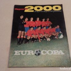 Coleccionismo deportivo: DEPORTE 2000 Nº 24 - EUROCOPA - ENERO DE 1971. Lote 110632547