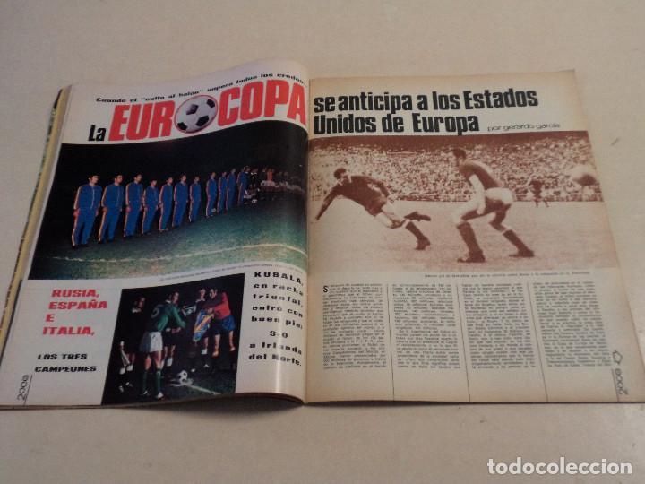 Coleccionismo deportivo: DEPORTE 2000 Nº 24 - EUROCOPA - ENERO DE 1971 - Foto 2 - 110632547