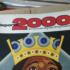 Coleccionismo deportivo: 7 REVISTAS DEPORTE 2000 N.40-43-45-46-47-48-49. Lote 111083692
