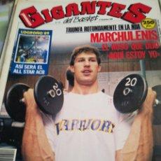 Coleccionismo deportivo: GIGANTES DEL BASKET NÚMERO 212 27 NOVIEMBRE 1989. Lote 111114262