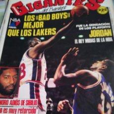 Coleccionismo deportivo: GIGANTES DEL BASKET LOS BAD MEJOR QUE LOS LAKERS NÚMERO 189 19 JUNIO 1989. Lote 111114499