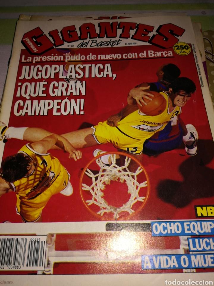 GIGANTES DEL BASKET JUGOPLASTICA CAMPEÓN NÚMERO 234 30 ABRIL 1990 (Coleccionismo Deportivo - Revistas y Periódicos - otros Deportes)