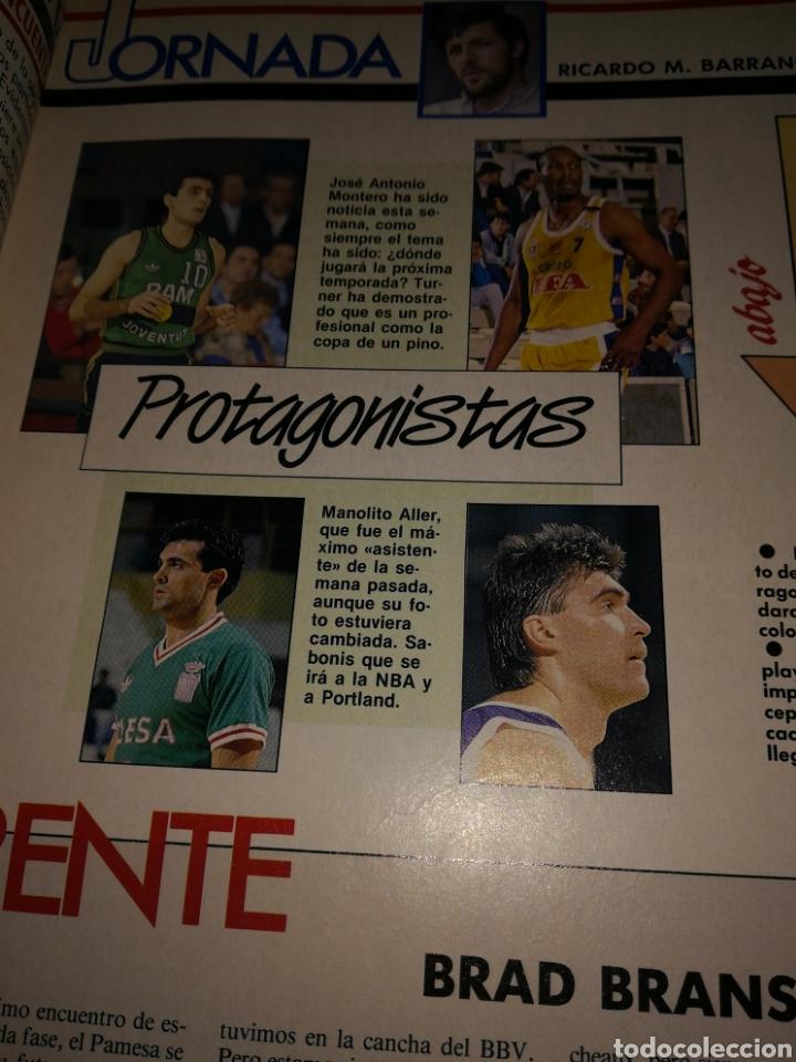 Coleccionismo deportivo: Gigantes del Basket jugoplastica campeón número 234 30 abril 1990 - Foto 3 - 111121656