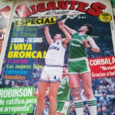 Coleccionismo deportivo: GIGANTES DEL BASKET NÚMERO 23 14 ABRIL 1986. Lote 111126196