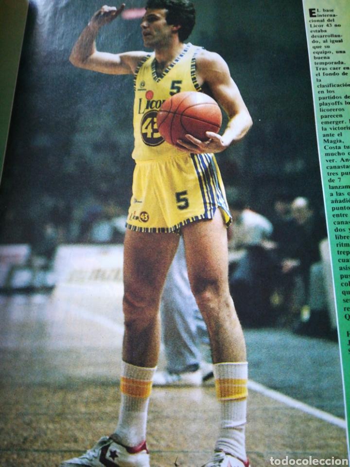 Coleccionismo deportivo: Gigantes del Basket número 23 14 abril 1986 - Foto 2 - 111126196