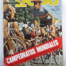 Coleccionismo deportivo: DEPORTE 2000 57 LUIS OCAÑA CICLISMO HOCKEY HIERBA JUAN BARBUZANO EDDY MERCKX. Lote 111612923