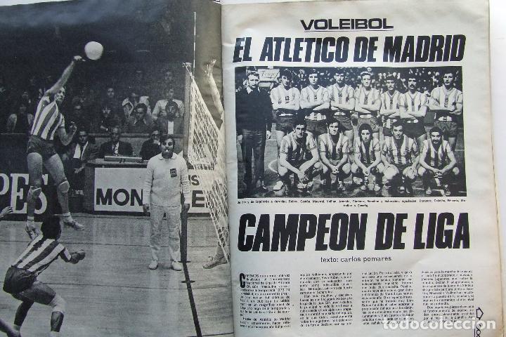 Coleccionismo deportivo: DEPORTE 2000 64 REAL MADRID BALONCESTO BOXEO GITANO JIMENEZ HOCKEY HIERBA MONTJUICH ATLETICO - Foto 6 - 111613619