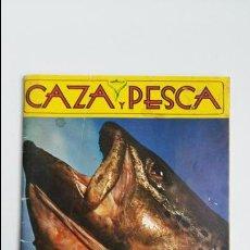 Coleccionismo deportivo: REVISTA CAZA Y PESCA. ABRIL 1977. 412. PUBLICIDAD. Lote 112208899